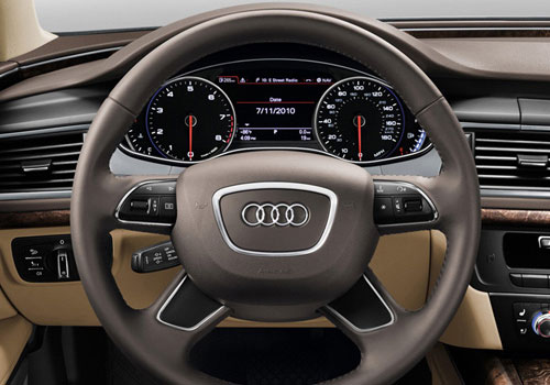 Audi A7 Steering Wheel Interior Picture
