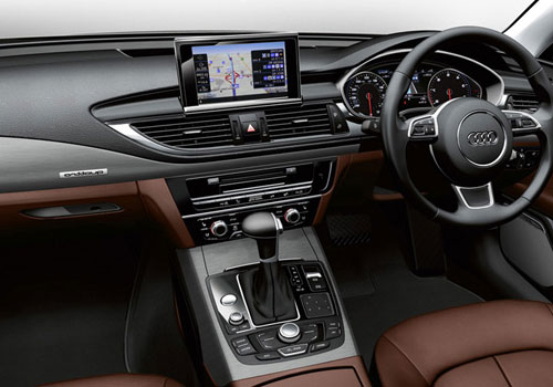 Audi A7 Front AC Controls Interior Picture