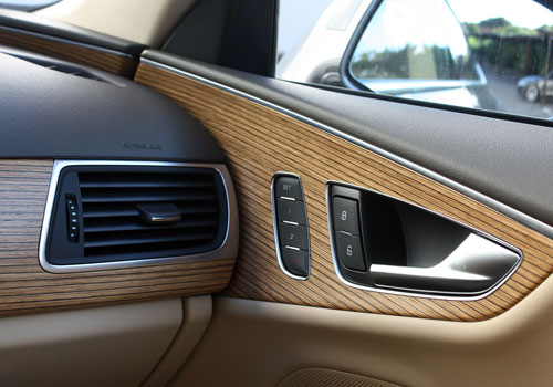 Audi A7 Side AC Control Interior Picture