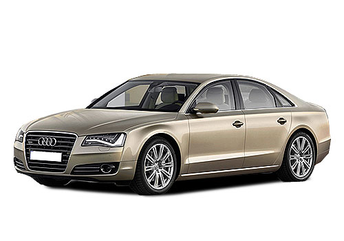 Audi A8 L Front Side View Picture
