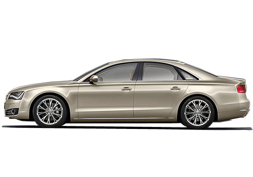 Audi A8 Front Angle Side View Exterior Picture