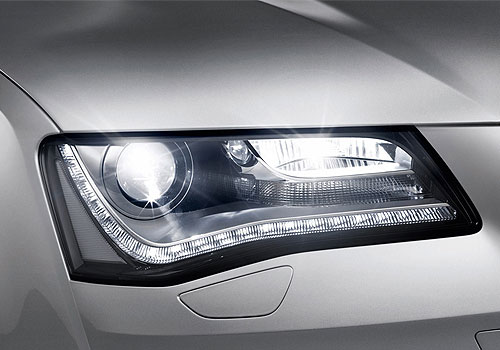 Audi A8 Headlight Exterior Picture