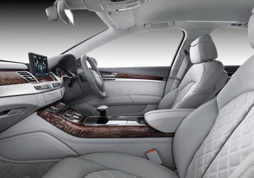 Audi A8 Front Seats Interior Picture