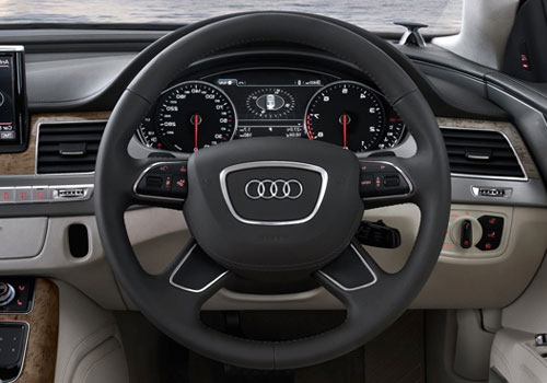 Audi A8 Steering Wheel Interior Picture