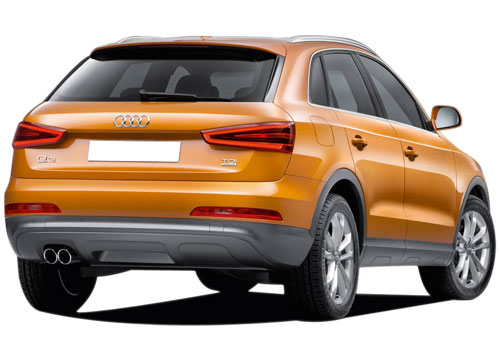 Audi Q3 Rear Angle View Picture