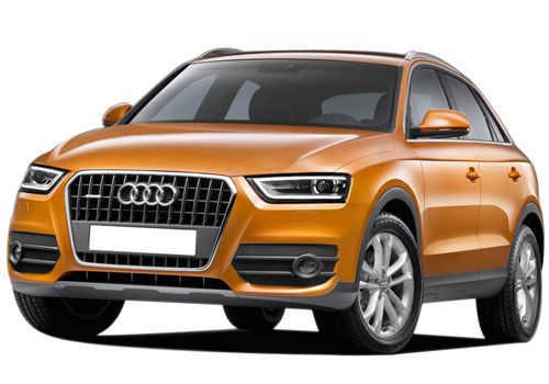 Audi Q3 Front Angle View Picture