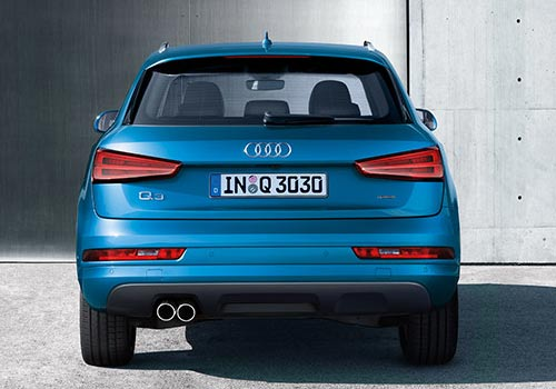 Audi Q3 Rear View Exterior Picture