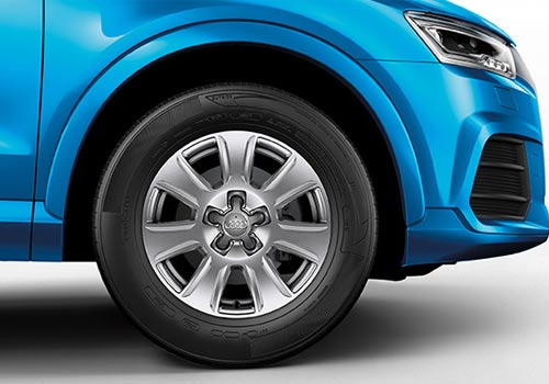 Audi Q3 Wheel and Tyre Exterior Picture