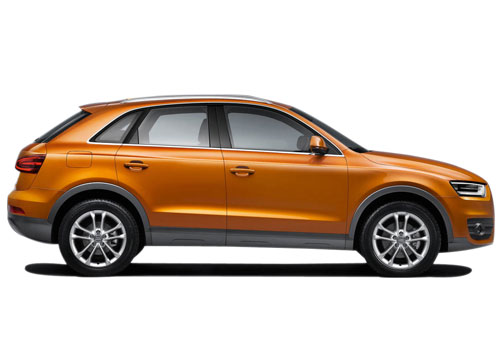 Audi Q3 Side Medium View Exterior Picture