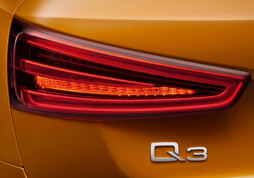 Audi Q3 Tail Light Picture
