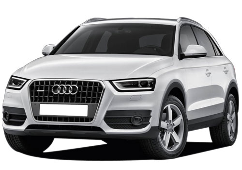 Audi Q3 Front High Angle View Exterior Picture