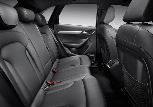 Audi q3 Rear Legroom Audi q3 Rear Seats Pictures