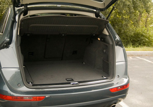 Audi Q5 Boot Open Picture