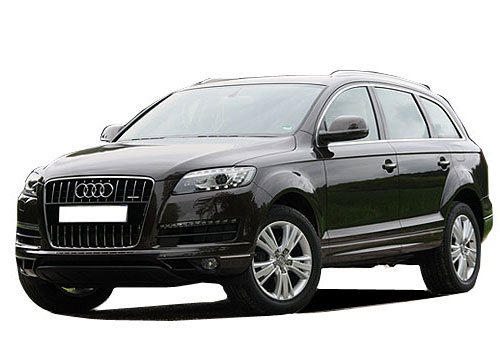 Audi Q7 Front Angle View Picture