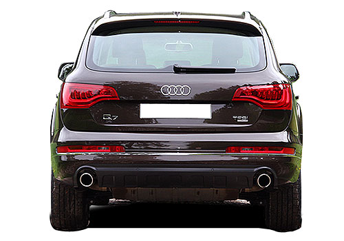 Audi Q7 Rear View Exterior Picture