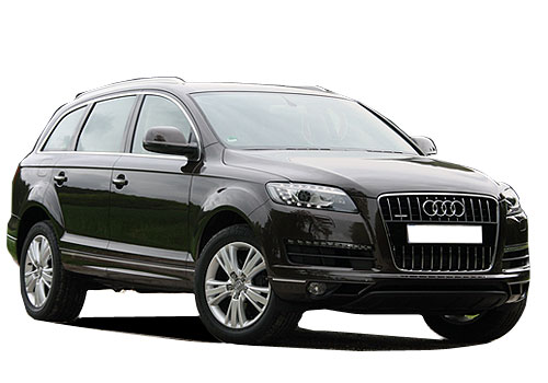 Audi Q7 Front Low Angle View Exterior Picture