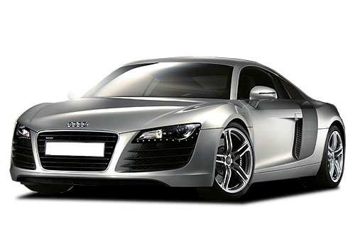 Audi R8 Front Side View Picture