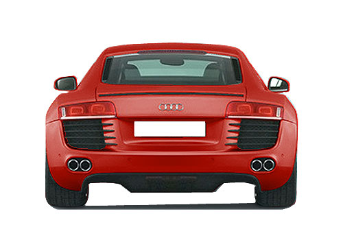 Audi R8 Rear View Picture