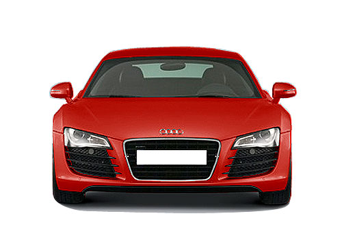 Audi R8 Front View Picture