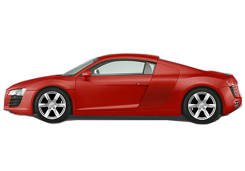 Audi R8 Front Angle Side View Exterior Picture