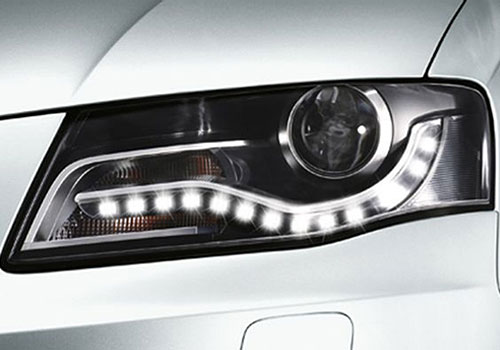 Audi R8 Headlight Picture