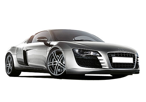 Audi R8 Front Low Angle View Exterior Picture
