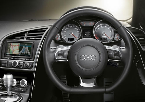 Audi R8 Steering Wheel Picture