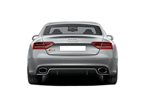 Audi RS5 Rear View Picture