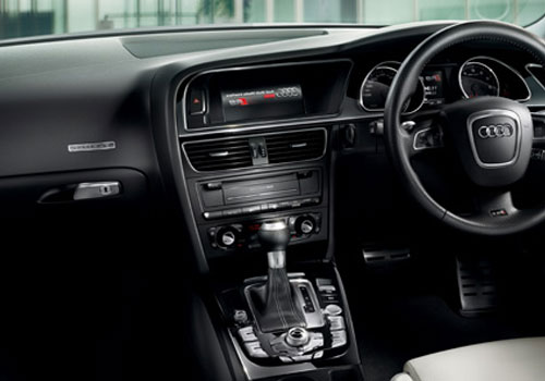 Audi RS5 Front AC Controls Interior Picture