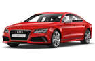 Audi RS7 in Red Color