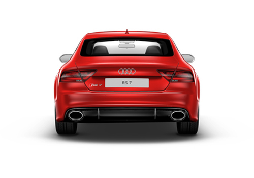 Audi RS7 Tail Light Exterior Picture