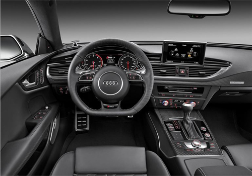 Audi RS7 Top View Interior Picture