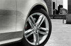 Audi S4 Wheel and Tyre Picture