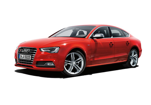 Audi S5 Front Angle View Exterior Picture