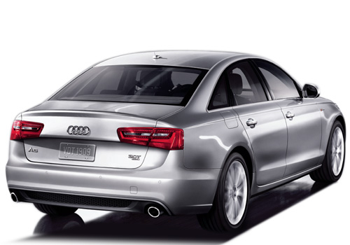 Audi S6 Rear Angle View Exterior Picture