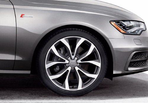 Audi S6 Wheel and Tyre Exterior Picture
