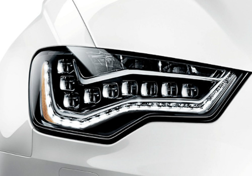 Audi S6 Headlight Exterior Picture
