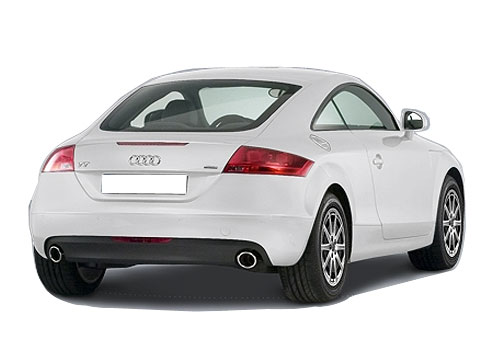 Audi TT Rear Angle View Exterior Picture