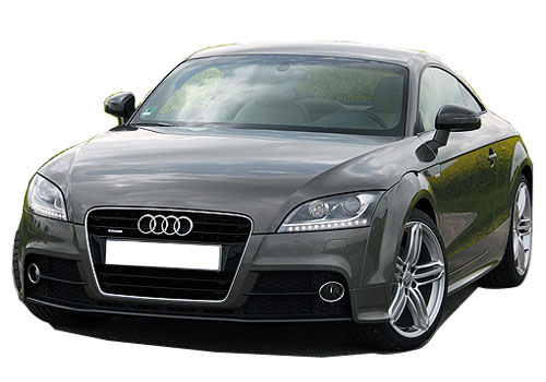 Audi TT Front View Side Picture