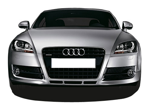 Audi TT Front View Picture