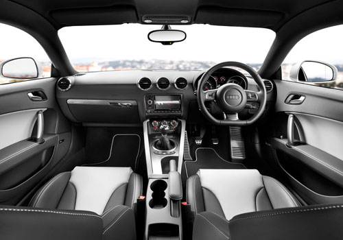 Audi TT Coupe Dashboard Picture