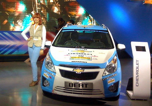 Chevrolet Cars at Auto Expo