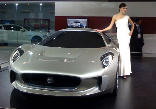 Jaguar Cars At Auto Expo