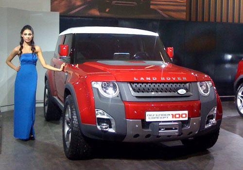 Land Rover Defender Concept Pictures