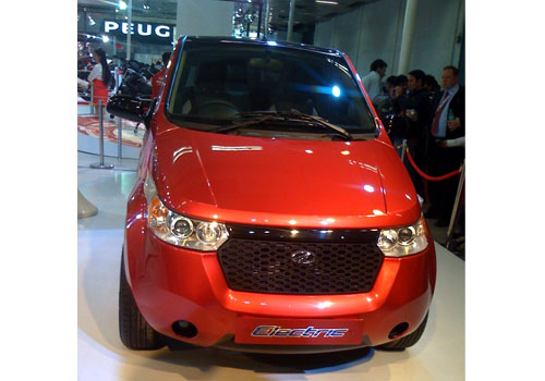 Mahindra Reva Electric Pictures