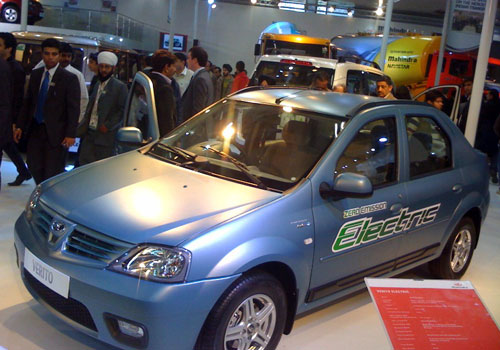 Mahindra Verito Electric Pictures