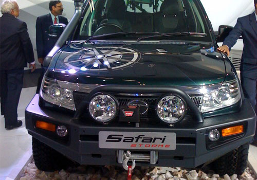 Tata Safari Storm Pictures