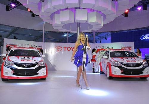 Toyota Cars at Auto Expo