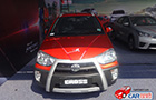 Toyota Etios Cross Front Side Profile