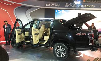 Isuzu D-max V-cross @Auto Expo 2016